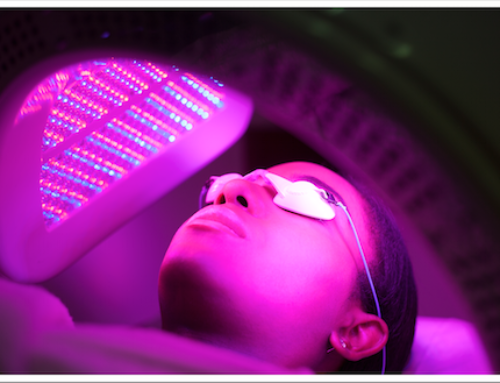 What is an LED Light Facial?
