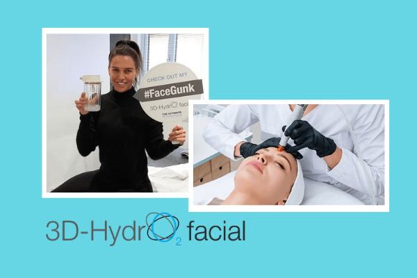Amazing results from HYDRO2 facial