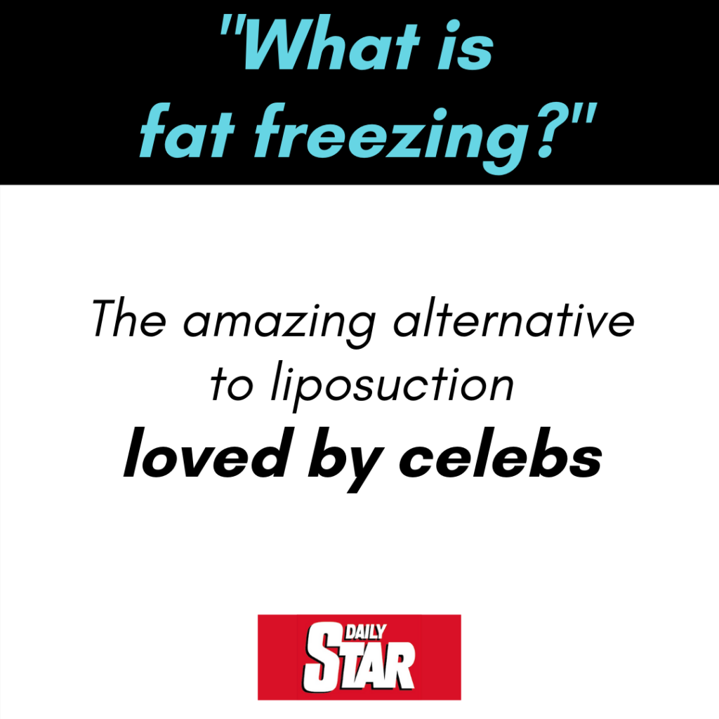 Fat freezing is loved by celebs